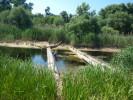 Заміри рівня води у річках в районі Цукрового заводу