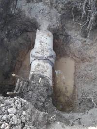 Завершено ремонт труби по вул.Дружби