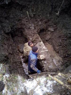 Аварійно-відновлювальні роботи, район Грензаводу