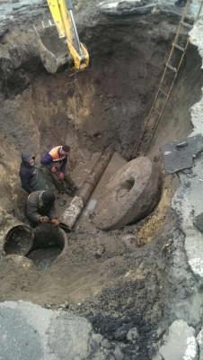 Аварія по вул. Театральна