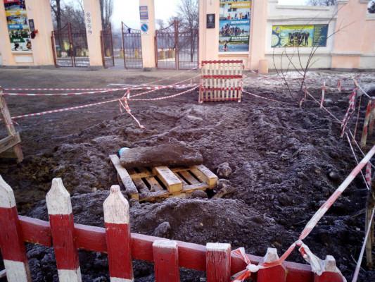 Ремонт камери гасіння каналізаційного колектору