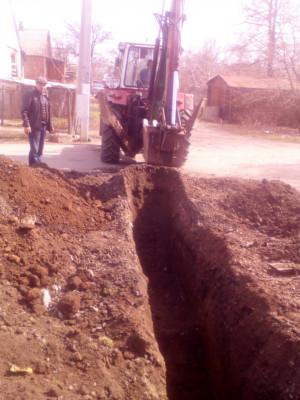 Заміна ділянки лінії каналізації по вул. Камяномостівська, 25