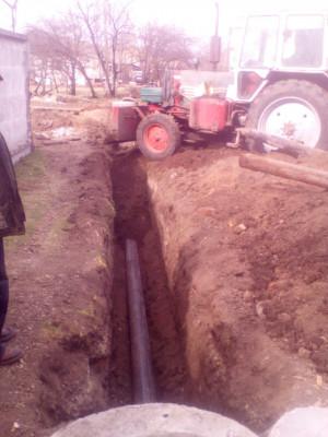 Заміна ділянки лінії каналізації по вул. Кам'яномостівська, 25
