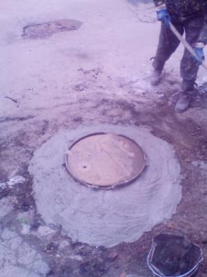 Реставрація каналізаційних колодязів по вул.Корабельна та Рожева
