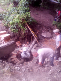 Будівництво колодязя, ЗОШ №3